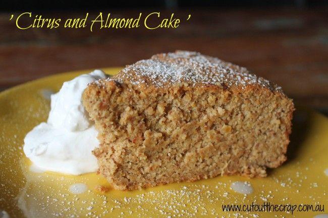 Citrus and Almond Cake - LOGO