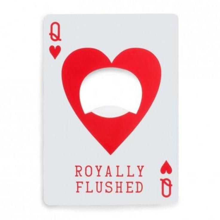 Soyez imbattable !! Faites bonne figure avec ce décapsuleur et jouez la bonne carte.