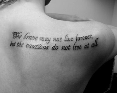 20 Meaningful Tattoo Quotes and Sayings - Sortrature