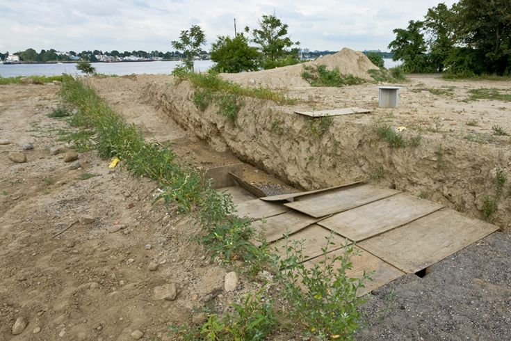 Hart Island - The first person buried in the potters field was Louisa Van Slyke, a 24-year-old woman, in 1869. Since then, over three quarters of a million people have found final rest on the island. The records for most of these burials were lost in a fire.  The potters field at Hart Island is the largest cemetery in the United States.