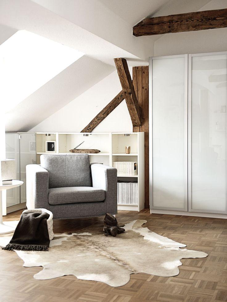 47 best schlafzimmer images on Pinterest Apartments, Bedrooms - wandgestaltung schlafzimmer dachschräge