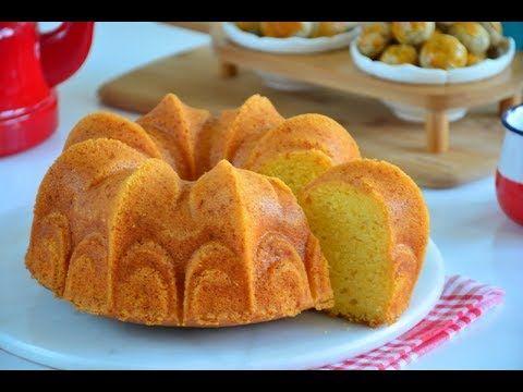 Mandalinalı Kabarma Garantili Sünger Kek ( Herkesin çok beğendiği nefis tarif) - YouTube