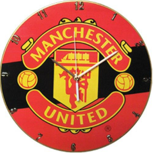 Buy MANCHESTER UNITED VINYL CLOCK Collectible Bar Den Man Cave for R499.00