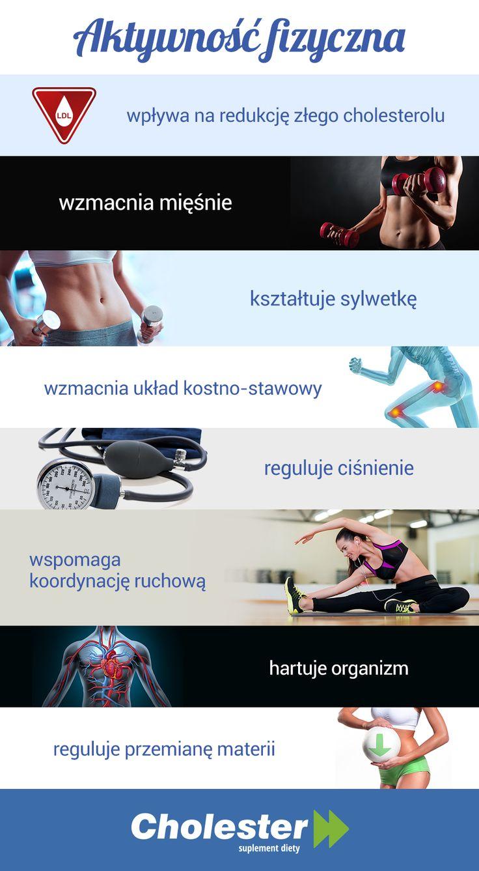 Korzyści płynące z aktywności fizycznej są nieocenione dla naszego zdrowia i samopoczucia.  #cholester #sport #fitness #cholesterol