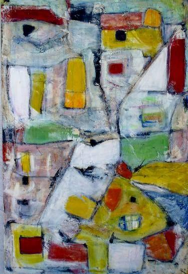 "Saatchi Art Artist Vanda Parker; Painting, ""MERTOPOLIS"" #art"