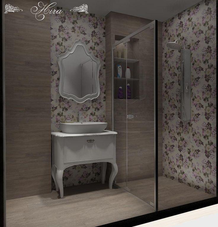 Hira İç Mimarlık- Banyo Dekorasyonu