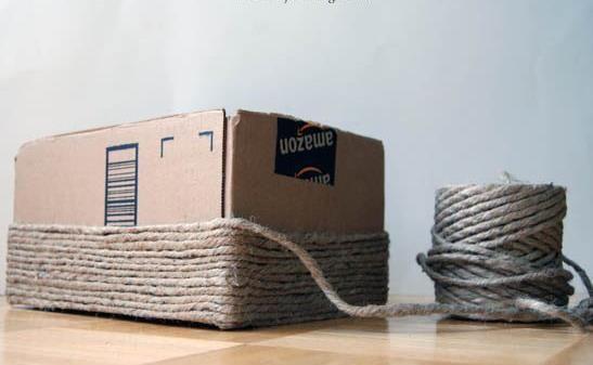 košík z kartonu