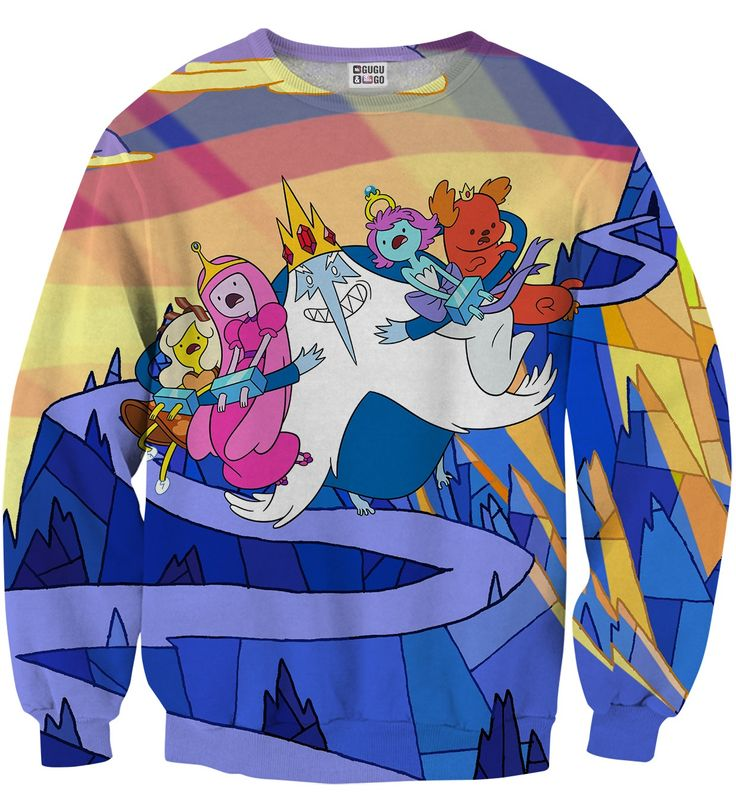 Ice King Snatch sweater, Mr. GUGU & Miss GO