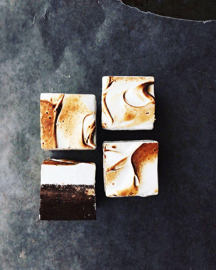Triple Layer S'mores Brownies | Tara O'Brady + Seven Spoons