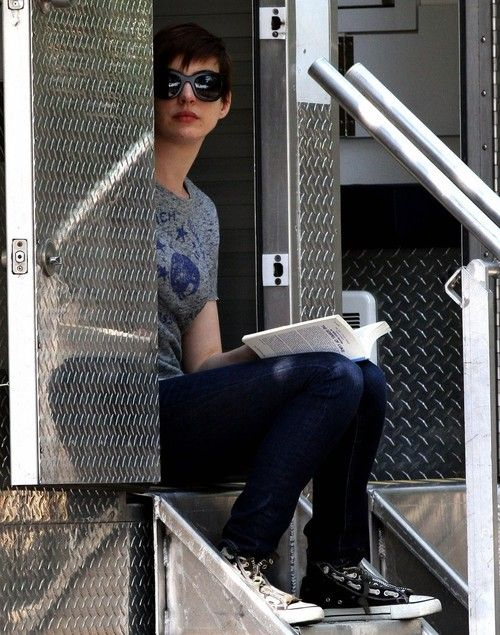 Anne Hathaway reading The Gospel Of Luke by William Barclay (I thought this was…