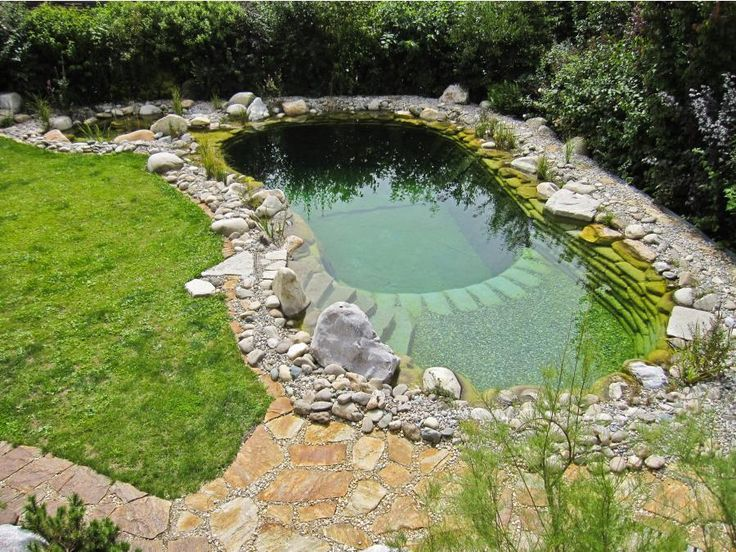 78 best images about water garden on pinterest natural for Pool gestaltungsideen
