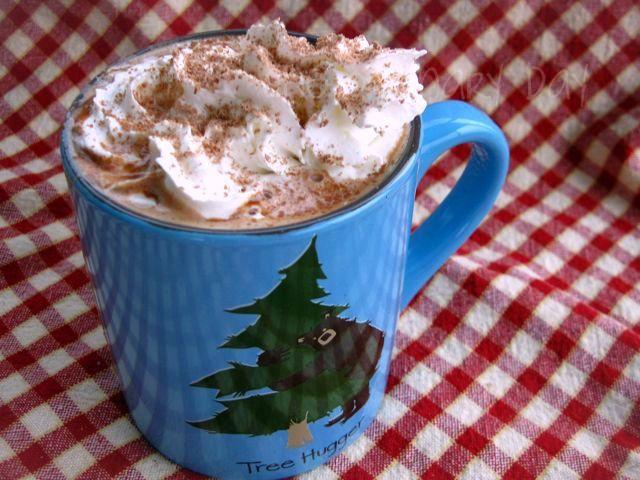 Nutella mocha hot chocolate