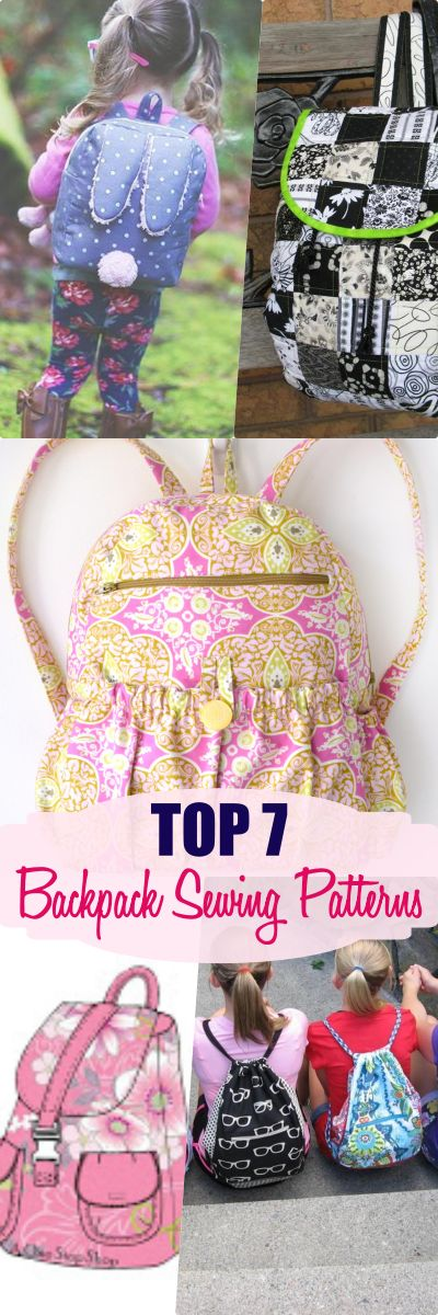 how to make a backpack | backpack patterns | make your own backpack | bag sewing patterns | backpack sewing patterns | free backpack pattern