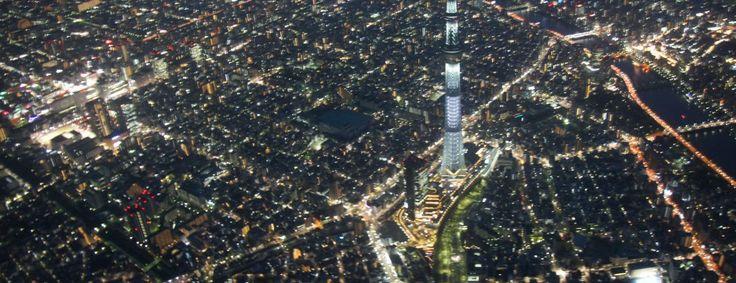 Survol de Tokyo en hélicoptère : la claque !