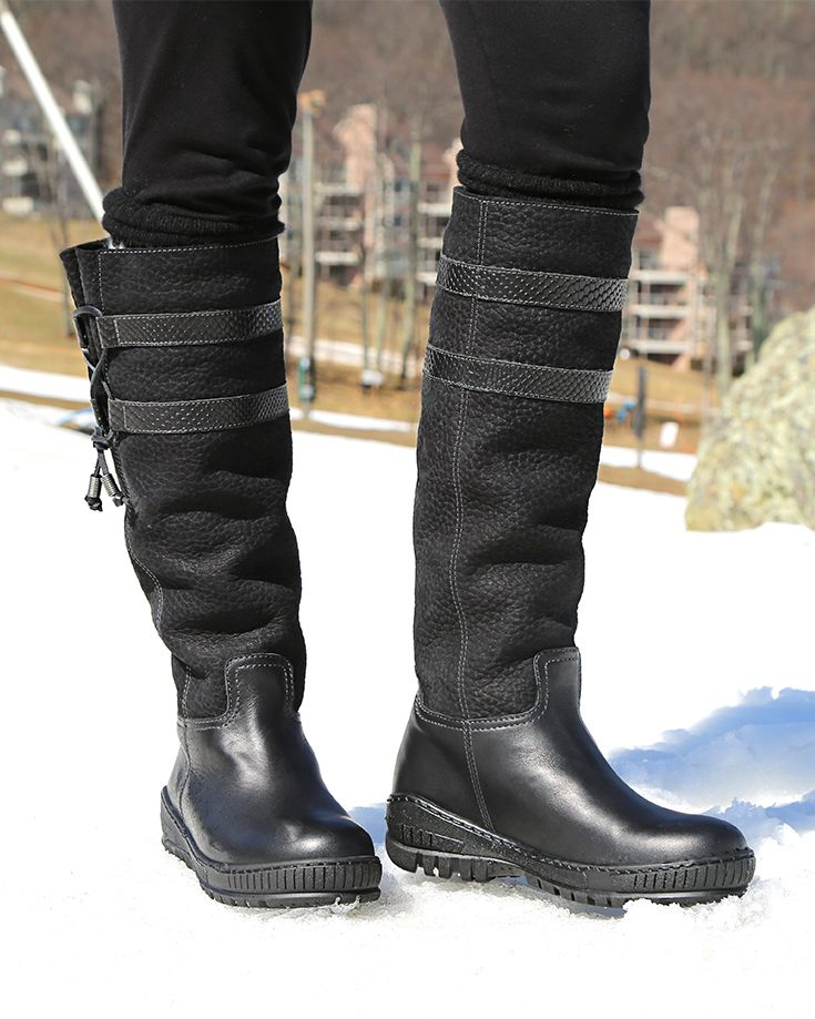 7ad78901a7f1 MOVE ON in BLACK Cold Weather Boots