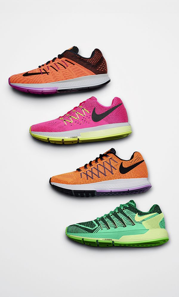 Meet the fleet. Get the right gear to find your fast with the Nike Running Zoom Collection.