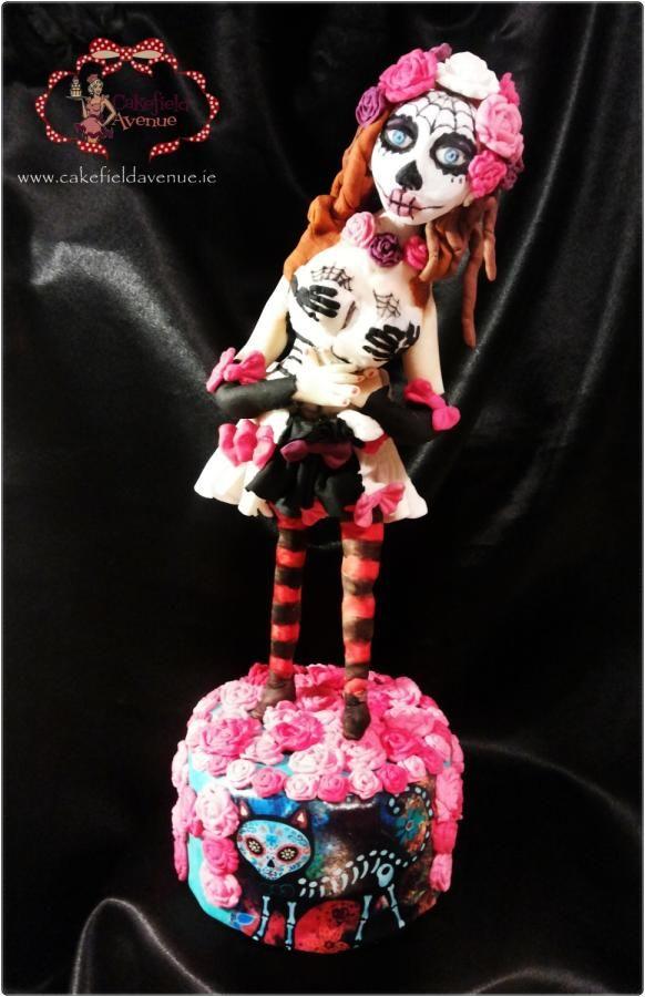 Cake Art Sylvania Avenue : 17 Best images about Arte popular: DIA DE LOS MUERTOS on ...