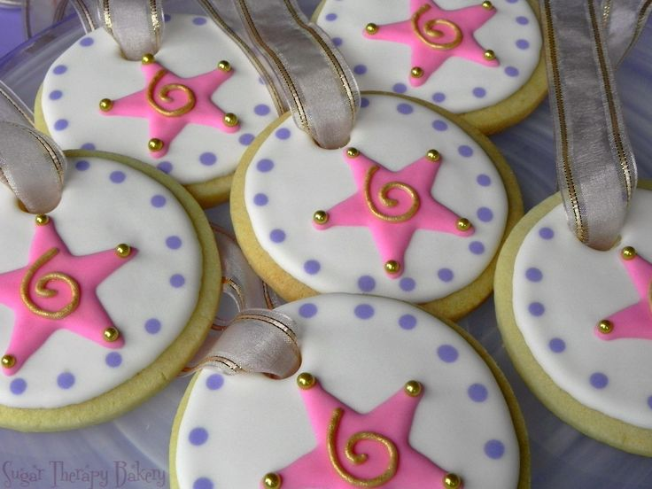 Cookie Medals for my daughter's gymnastics birthday party.