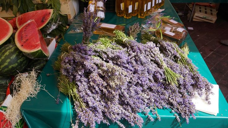 Lavender on the French Riviera