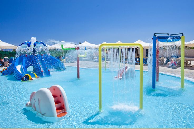 All the splish splash and fun your kids can ever imagine. Our Aqualand is simply adorable.  #KipriotisHotels #Aqualand #Waterpark #Kos #Kosisland #FamilyHolidays