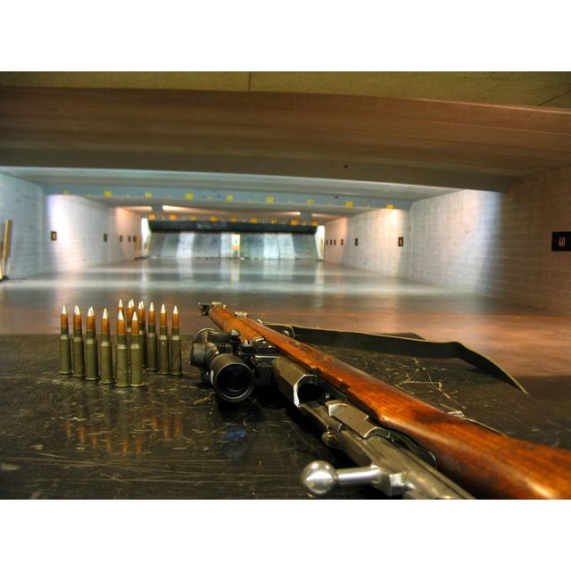 Range In The Basement