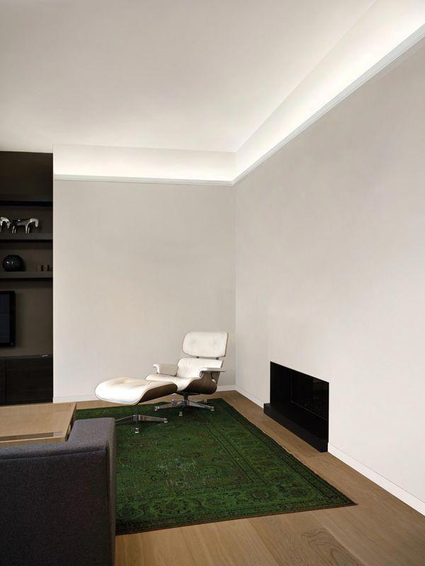 Led Uplight Cornice 1 Interiorledlights Living Room Lighting Indirect Lighting Living Room Design Modern