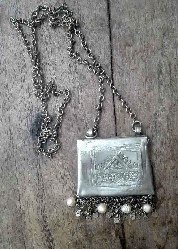 Alte indische Halskette von Orientexpress1978 auf Etsy