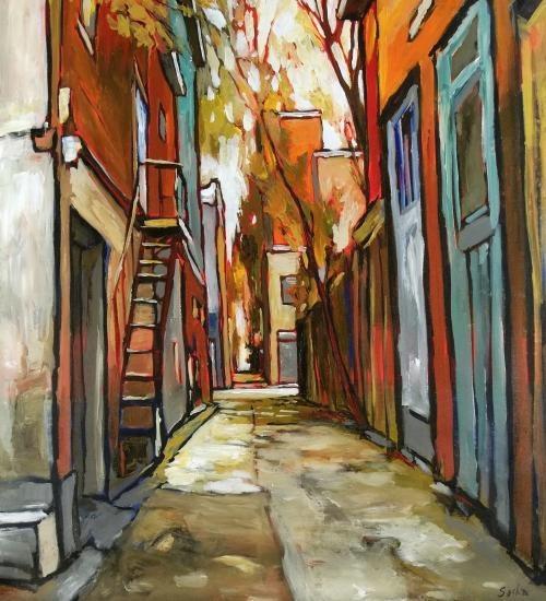 Gordon Artist Painting