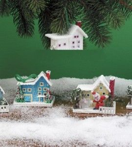 Miniature House Christmas Ornament | Paper Crafts | Christmas Crafts — Country Woman Magazine