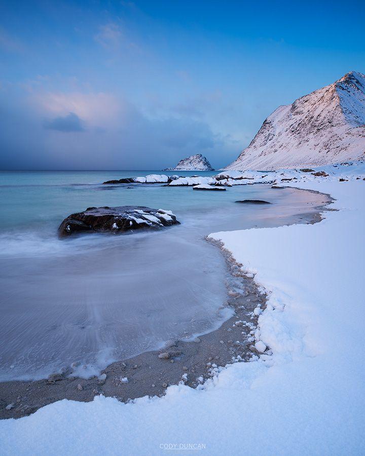 Vik Beach – Vestvågøy, Lofoten Islands, Norway