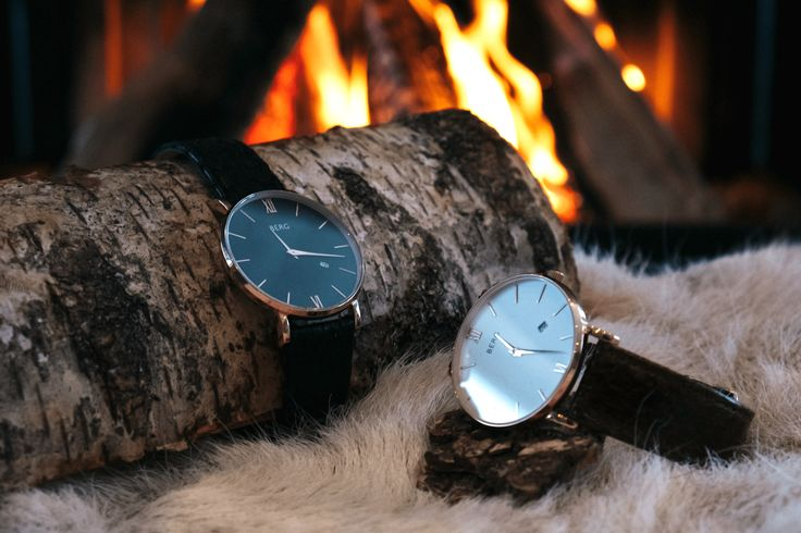 Our watch straps are made out of salmon leather from Iceland
