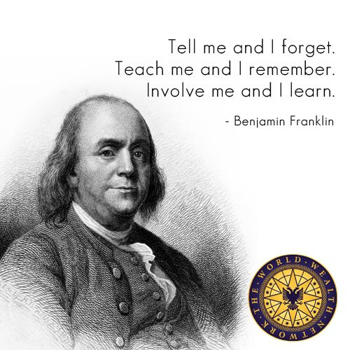 Amazon.com: Ben Franklin Quotes Education Wall Decal ...