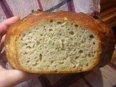 Kváskový chléb a jiné mňamky: Chléb kynutý v lednici