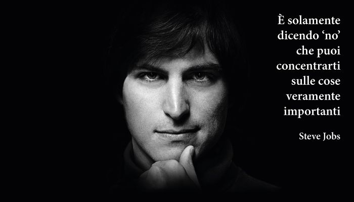Citazione di Steve Jobs