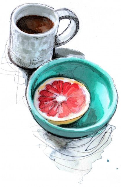 I nice simple still life...great color