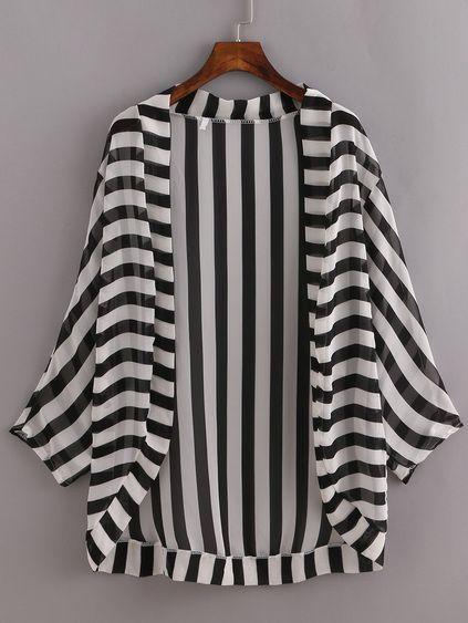 Women's Kimonos - Black, White, Silk & Long Kimonos | Romwe.com
