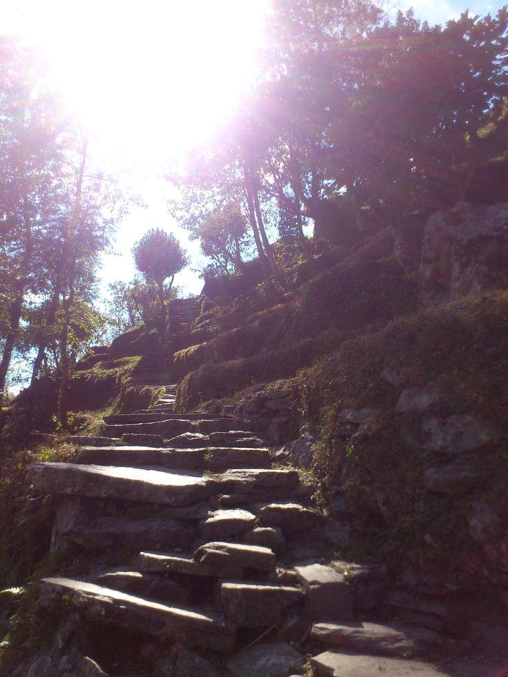Steps to Ghandruk #trekking #Gurung #village #Ghandruk #Ghandrung #hospital #travel
