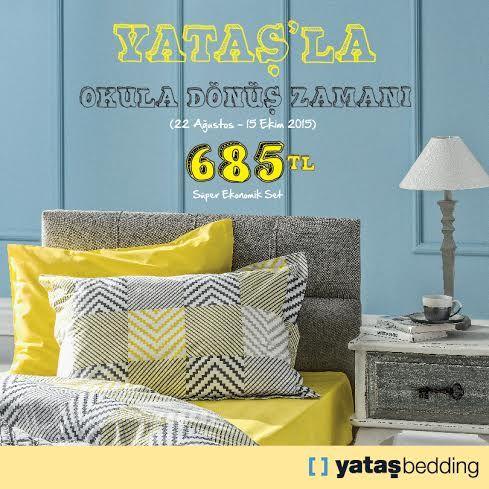 15 Ekim'e kadar Yataş'ta süper ekonomik set sadece 685 TL!  Yataş,  #BeylikdüzüMigros AVM bodrum katta.
