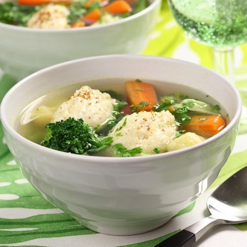 Grönsakssoppa med klimp