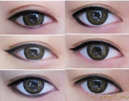Odpowiednie stosowanie eyelinera może zmienić kształt oczu!