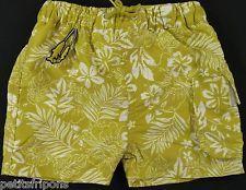 Short maillot de bain jaune/vert et fleurs Sergent Major 12 mois garçons
