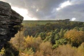 Hard Castle Crags, National Trust, near Hebden Bridge