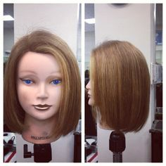 12 best round one length cuts images on pinterest faces hair cut round one length hair cut with blonde highlights medium haircuts winobraniefo Image collections