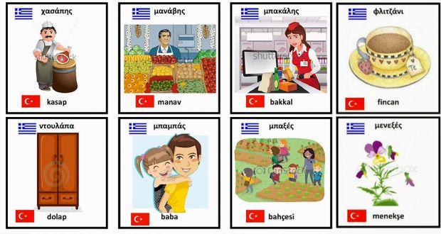 Χρησιμοποιούμε καθημερινά 218 λέξεις αραβικής και τουρκικής καταγωγής