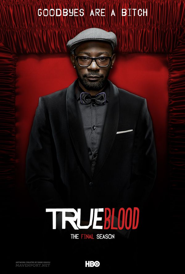 True Blood: The Final Season (Posters) by Emre Ünaylı, via Behance.