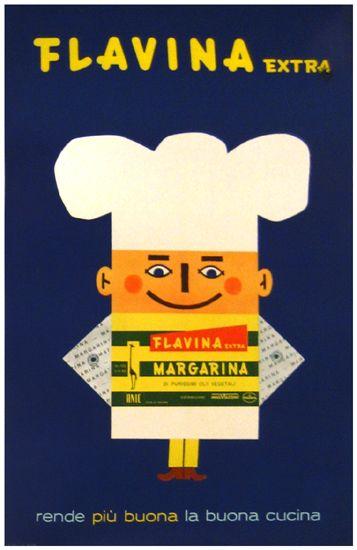 Vintage Italian Posters ~ #illustrator  #Italian #posters ~ Flavina c, 1960