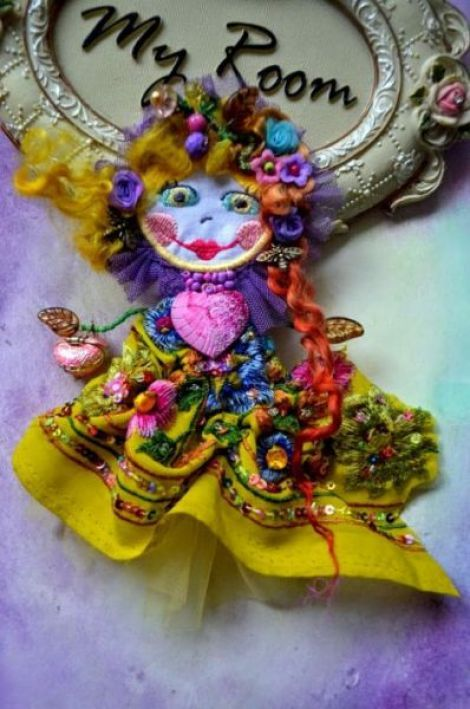 Brosa Pretty Gypsy Doll