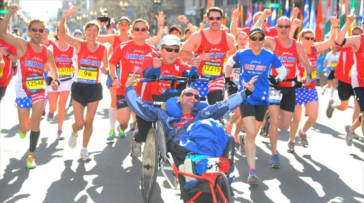 Dad Pushes Disabled Son Through Over 1,000 Races, Together