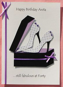 handmade+shoes+card | Crafts > Cardmaking & Scrapbooking > Hand-Made Cards > Birthday Cards