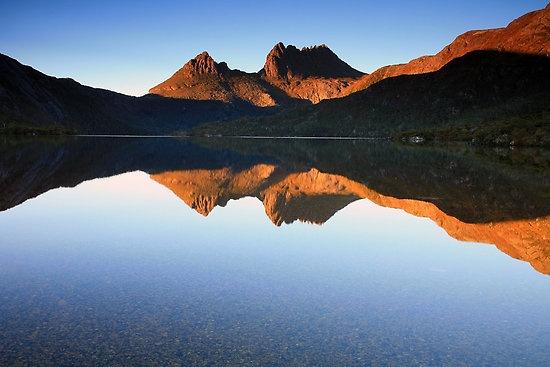 Cradle Mountain Lake, St Clair National Park, Tasmania
